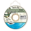 Rattail Cord 3mm 10 Yds With Re-useable Bobbin Aqua Blue